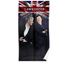 Mystrade - Law&Order Poster