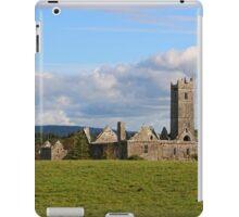 Quin Abbey in Rural Ireland iPad Case/Skin