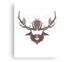 Hannibal Rorschach  Canvas Print