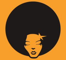 La Fonky Afro Lady by bluedog725