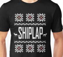 SHIPLAP Ugly Christmas Sweater T-Shirt, Funny Fixer Upper Shirts Unisex T-Shirt