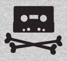 Pirates of the Cassette Player - BLACK by bluedog725