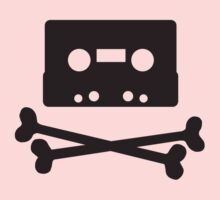 Pirates of the Cassette Player - BLACK Kids Clothes