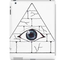 pyramid eye iPad Case/Skin