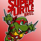 Super Turtle Bros - Raph by moysche