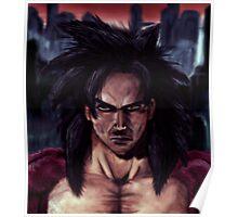 Goku Ssj4 portrait Poster
