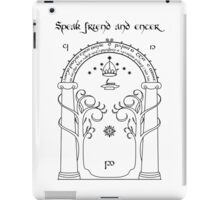 Ancient Gate iPad Case/Skin