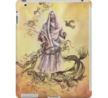 Jesus Christ with Symbols of Christianity  iPad Case/Skin