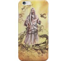 Jesus Christ with Symbols of Christianity  iPhone Case/Skin