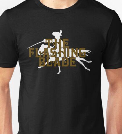 The Flashing Blade Riding Horse Funny Unisex T-Shirt