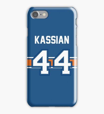 Zack Kassian - BLUE iPhone Case/Skin