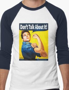 Durden the Riveter Men's Baseball ¾ T-Shirt
