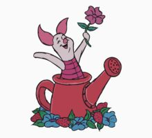 Piglet in a Watering Can Kids Clothes