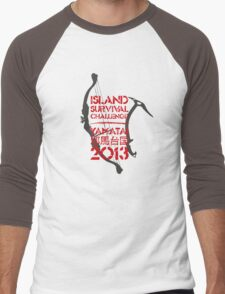 Island Survival Challenge 2013 Men's Baseball ¾ T-Shirt