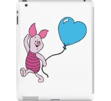 Piglet with a Balloon iPad Case/Skin