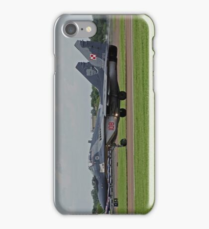 Mikoyan MiG-29A iPhone Case/Skin