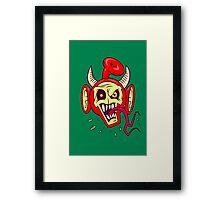 Evil Dead Po Framed Print