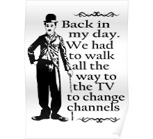 BACK IN MY DAY - TV WALK Poster