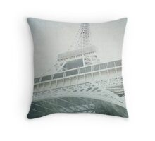 Letters From The Eiffel - Paris Throw Pillow