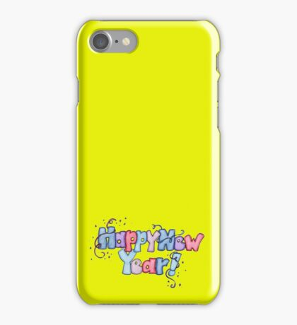 Happy New Year ! iPhone Case/Skin