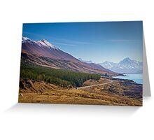 Lake Pukaki Greeting Card