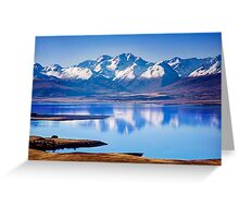 Lake Tekapo Reflections Greeting Card