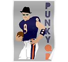 Jim McMahon - Punky QB Poster