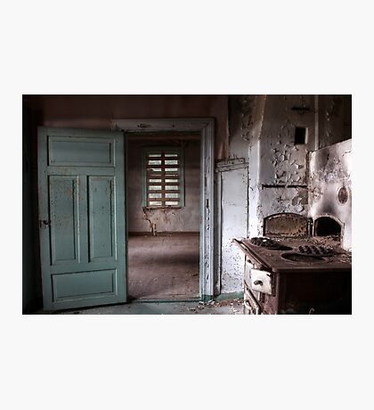 25.12.2016: In Abandoned House Photographic Print