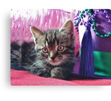 Kitty Daydream Canvas Print