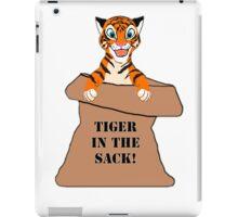 Orange 'Tiger in the Sack!' iPad Case/Skin