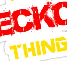 It's A BECKOR thing, you wouldn't understand !! Sticker