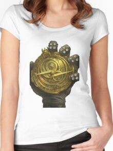 Trollhunters Medallion Women's Fitted Scoop T-Shirt