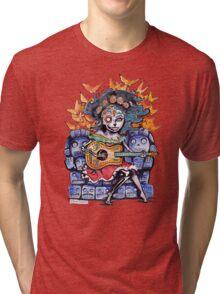 Dia de los Muertos Tri-blend T-Shirt