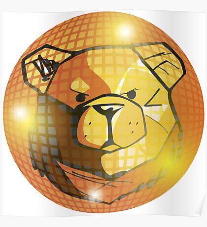 ROBUST Bear Disco Ball 1 Poster