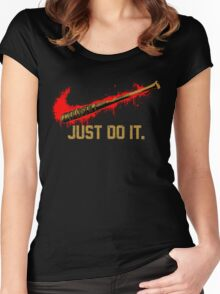 Lucille - Negan Parody Women's Fitted Scoop T-Shirt