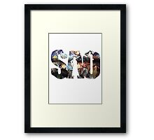 SAO Title Framed Print