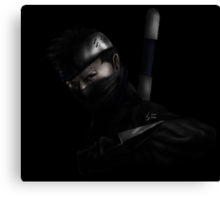 Zabuza Elite ninja dark Canvas Print