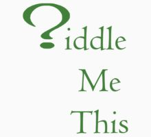 Riddle Me This One Piece - Short Sleeve
