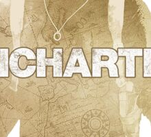 Uncharted logo Sticker