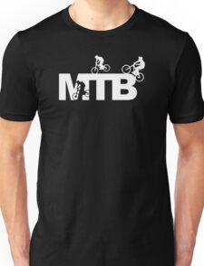 MTB Cycling Logo Funny Unisex T-Shirt