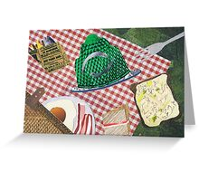 The Great British Picnic Greeting Card