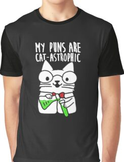 My Puns Are Cat Funny Graphic T-Shirt