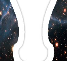 Castiel Galaxy Blue Sticker