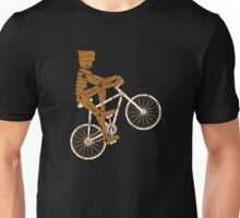Robot Cyclist Funny Unisex T-Shirt