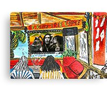 """Dos Kahunas....We Be Jammin' Canvas Print"