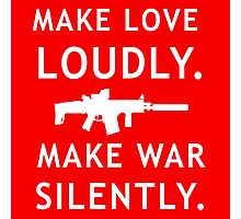 Love and War Photographic Print