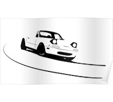 Mazda Miata (MX-5)  Poster