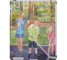The Puck Stops Here iPad Case/Skin