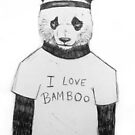 I Love Bamboo by Jeanette  Treacy