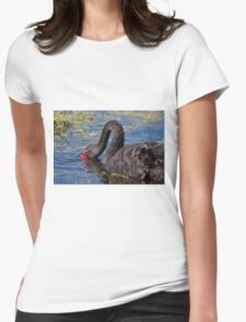 Bill Under Water Womens Fitted T-Shirt